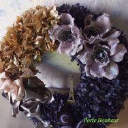 porte bonheur's wreath