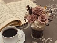 【フラワーアレンジメント】cafe  Valentine's