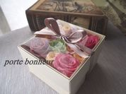 バレンタインアレンジ 'flower box'